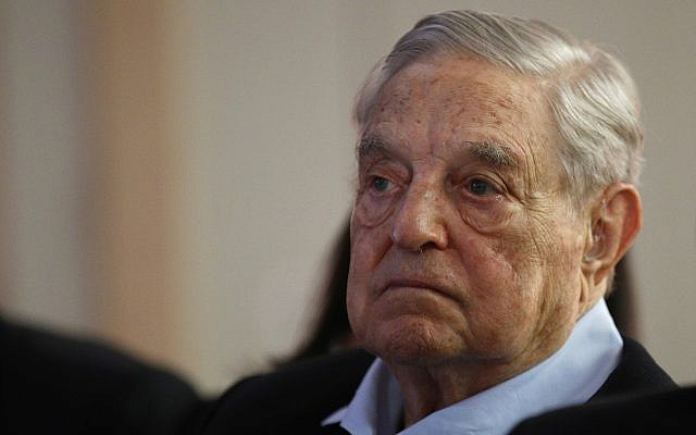 George Soros, founder and chairman of the Open Society Foundations, attends the annual meeting of the European Council On Foreign Relations, in Paris, France, May 29, 2018. (Francois Mori/AP)