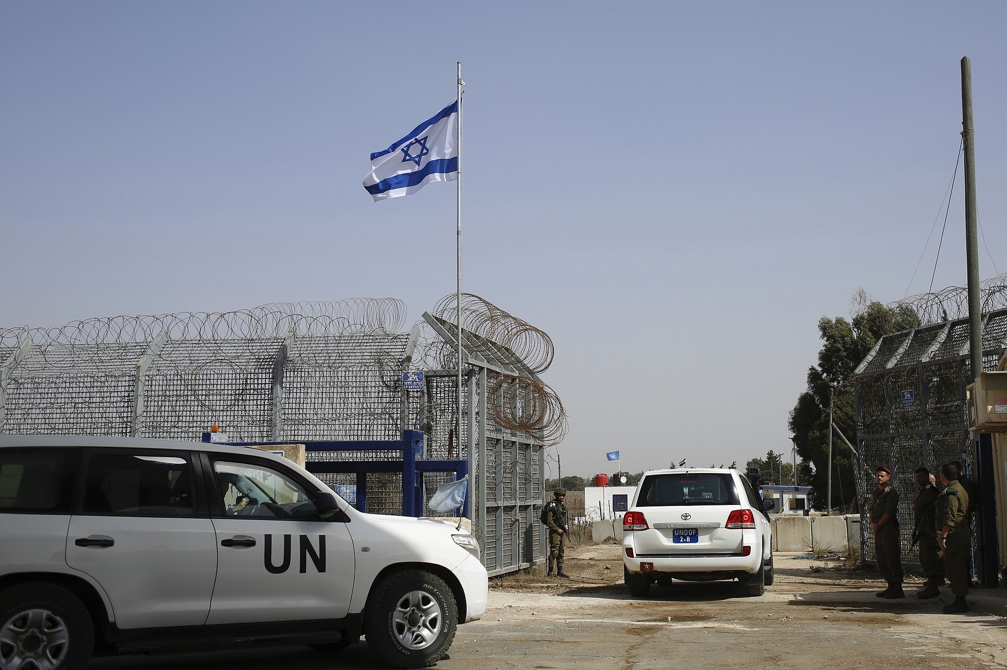 In first, U.S. votes against United Nations resolution condemning Israeli presence in Golan