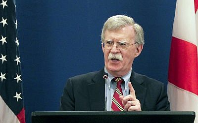 Bolton sets out conditions for US Syria withdrawal