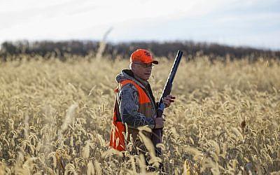 Rep. Steve King, R-Iowa, at a pheasant hunt in Akron, Iowa, Saturday, October 26, 2013. (AP/Nati Harnik)