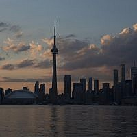 The Toronto skyline, 2015. (AP Photo/Rebecca Blackwell)