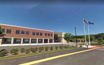 Amity High School in Woodbridge, Connecticut (Screen capture: Google Maps)