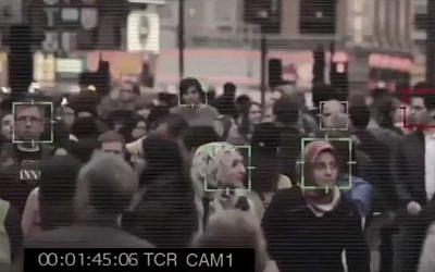 Israeli startup AnyVision uses artificial intelligence to recognize faces, bodies and objects for security and other purposes. (YouTube screenshot)