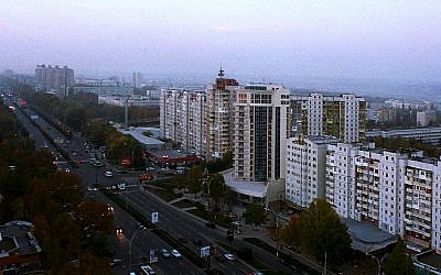 A view of Chisinau, Moldova (CC BY-SA Wikimedia Commons)