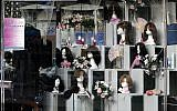 An illustrative photo of a wig shop in the central Israeli city of Bnei Brak on June 12, 2008. (Miriam Alster/Flash90)