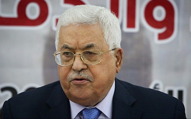 Abbas: Trump's peace plan will fail, Balfour Declaration is a 'conspiracy'
