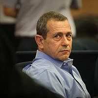 Head of the Shin Bet security service Nadav Argaman attends the Defense and Foreign Affairs Committee meeting at the Knesset on November 6, 2018. (Hadas Parush/Flash90)