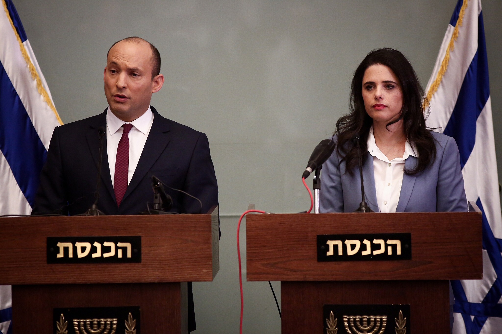 Image result for pics of naftali bennett and ayelet shaked