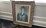The reproduction of a looted Degas pastel 'Portrait of Gabrielle Diot' which art restitution lawyer Christopher Marinello claimed was used to 'shop it around.' (Courtesy)