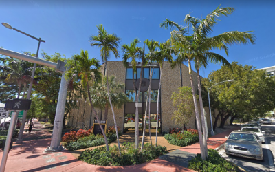 The West Avenue Jewish Center in Miami Beach, Florida. (Screen capture: Google Maps)