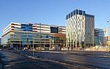 New Karolinska Solna University Hospital can be seen under construction in December 2016. (Wikipedia / Holger.Ellgaard / CC BY-SA)