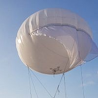 RT LTA Systems Ltd. has developed a new surveillance and communications baloon, the SkyStar 120, that is mounted on an all-terrain vehicle (Courtesy)