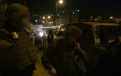 Israeli security forces arrest a number of Hamas members in the West Bank suspected of planning bombing attacks on Israeli targets on September 23, 2018. (Screen capture: Shin Bet security service)