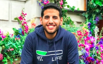 Nusseir Yassin ,the 26-year-old behind Nas Daily, the wildly popular video blog, is currently back in Israel (Courtesy Nas Daily)