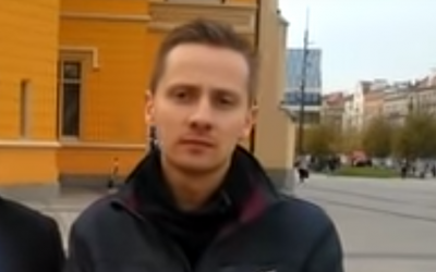 Polish author and ex-priest Jacek Miedlar (Screenshot: YouTube)