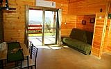 A home in the northern West Bank available for rent on Airbnb. (Samaria Tourism)