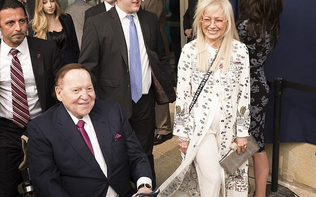 Trump to award Presidential Medal of Freedom to Adelson's wife