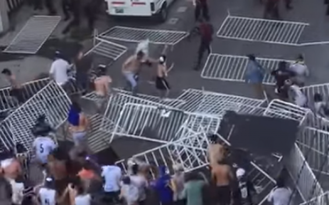 Argentina Soccer Fans Chant Kill Jews To Make Soap At Team With