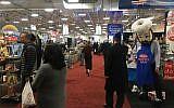 Kosherfest participants at the Meadowlands Exposition Center in Secaucus, New Jersey, November 13, 2018. (Josefin Dolsten)