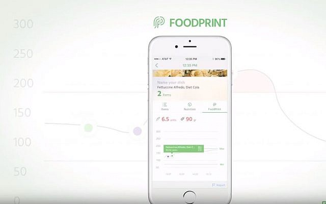 The Nutrino app works as a virtual personal nutritionist; Metronic Plc said in November 2018 that it will acquire the Tel Aviv based startup Nutrino Health (YouTube screenshot)