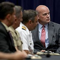 Matthew Whitaker at the Department of Justice's Kennedy building, August 29, 2018. (Chip Somodevilla/Getty Images)
