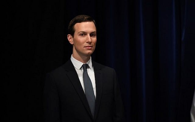 Senior Adviser to the President of the United States Jared Kushner, is pictured before being decorated with the Mexican Order of the Aztec Eagle by Mexico's President Enrique Pena Nieto in Buenos Aires, on November 30, 2018, in the sidelines of the G20 Leaders' Summit. (SAUL LOEB / AFP)
