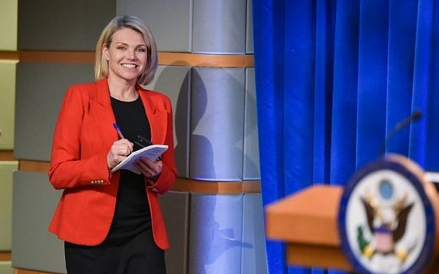 Trump to name Heather Nauert as UN ambassador tomorrow, reports say