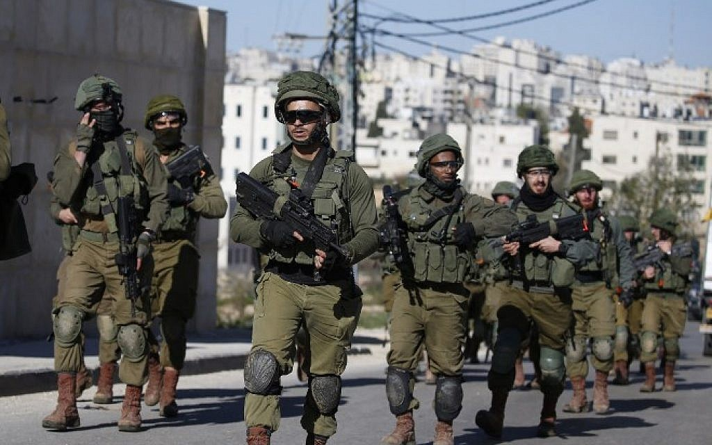 Palestinian assailant who seriously wounded soldier turns himself in
