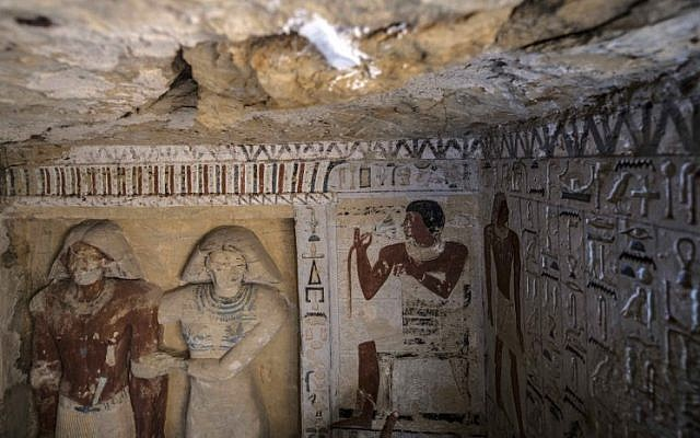 Exceptionally preserved 4,400-year-old tomb uncovered in ...