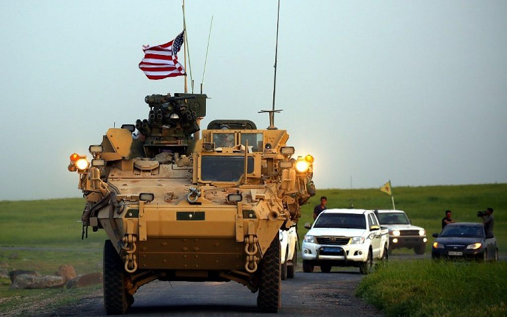 Order signed for United States  militarys controversial Syria exit
