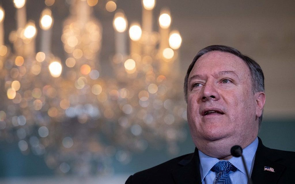 Pompeo On Tehran Rockets Us Wont Stand By As Iran Threatens