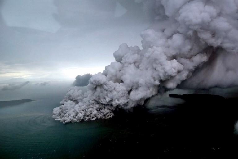 Indonesian volcano Anak Krakatau erupts again amid fears of another tsunami