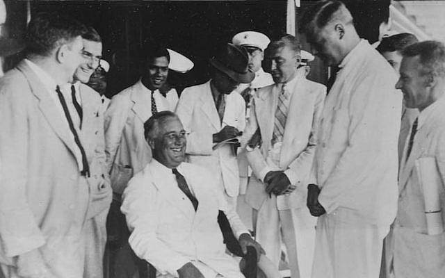 Franklin D. Roosevelt's greatest fear in the lead-up to war was Axis penetration of Latin America. The president made a cruise to Latin capitals to promote his Good Neighbor policy. (Franklin D. Roosevelt Presidential Library)