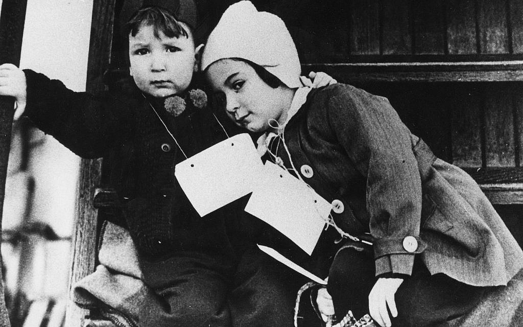 December 2, 1938: 'Kindertransport.' Following Kristallnacht, faith-based organizations in the UK lobbied for the entry of Jewish children refugees. The British government gave permission to issue visas and facilitate 10,000 children's entry into the country. Within the shortest time, host families were recruited, donations solicited, tickets booked, transit visas organized (the children traveled via Hoek van Holland). The first group arrived on December 2. (Courtesy of Leo Baeck Institute – New York | Berlin)