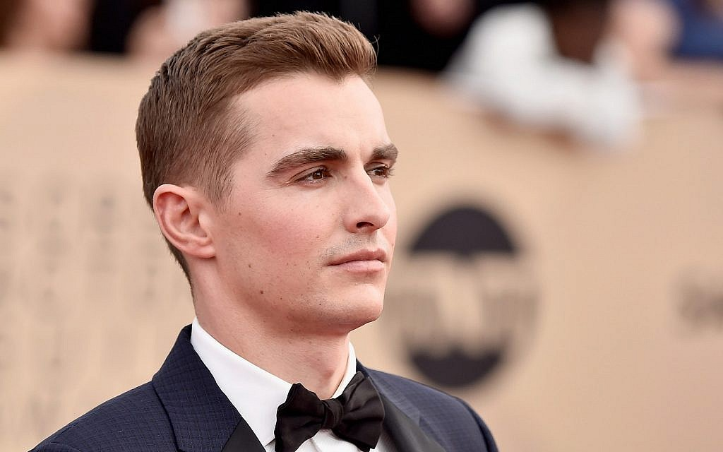 Dave Franco at the 24th Annual Screen Actors Guild Awards at The Shrine Auditorium in Los Angeles, January 21, 2018. Franco plays a Jewish landlord in 'If Beale Street Could Talk.' (Frazer Harrison/Getty Images/via JTA)