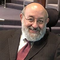 Rabbi Daniel Allen, who served as executive vice chairman emeritus of the United Israel Appeal and as president of the Association of Reform Zionists of America, is shown in an undated photograph. (Jennifer Laszlo Mizrahi via JTA)