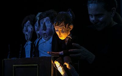 Nashville Puppeteer Brian Hull's adaptation of Janusz Korsczak's children's book 'Kaytek the Wizard' has played across the country.(BriAnimations Living Entertainment/via JTA)