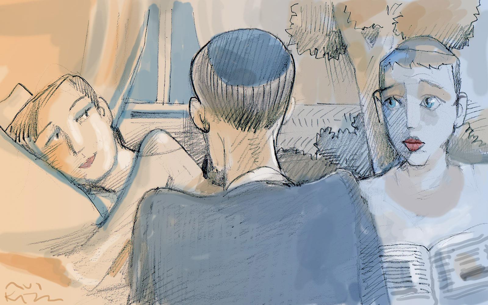 Illustration by Avi Katz