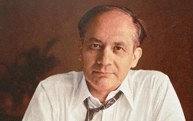 Raphael Lemkin, August 28, 1959. (United States Holocaust Museum)