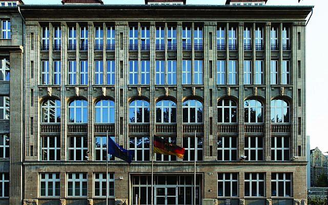 The building at Krausenstrasse17-18 today. (Heinrich Hermes)
