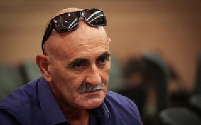 Jordan Valley Regional Council chairman David Elhayani. (Hadas Forush/Flash90)
