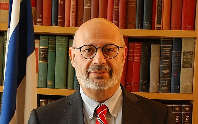 Israeli Ambassador to Ukraine Joel Lion. (Wikimedia Commons/Dovernewyork )