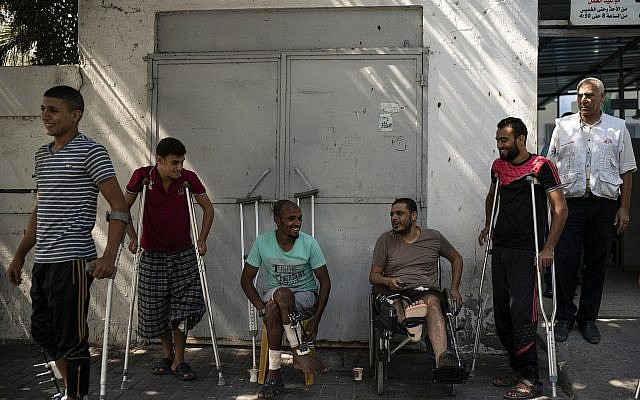 In Gaza protests, IDF troops aim for the legs | The Times of