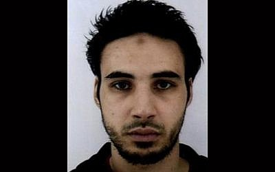 This undated handout photo provided by French police shows Cherif Chekatt, the suspect in the shooting in Strasbourg, France, on December 11, 2018. (French Police via AP, File)