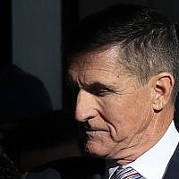 US President Donald Trump's former National Security Advisor Michael Flynn arrives for his sentencing at the US District Court in Washington, Tuesday, Dec. 18, 2018. (AP Photo/Manuel Balce Ceneta)