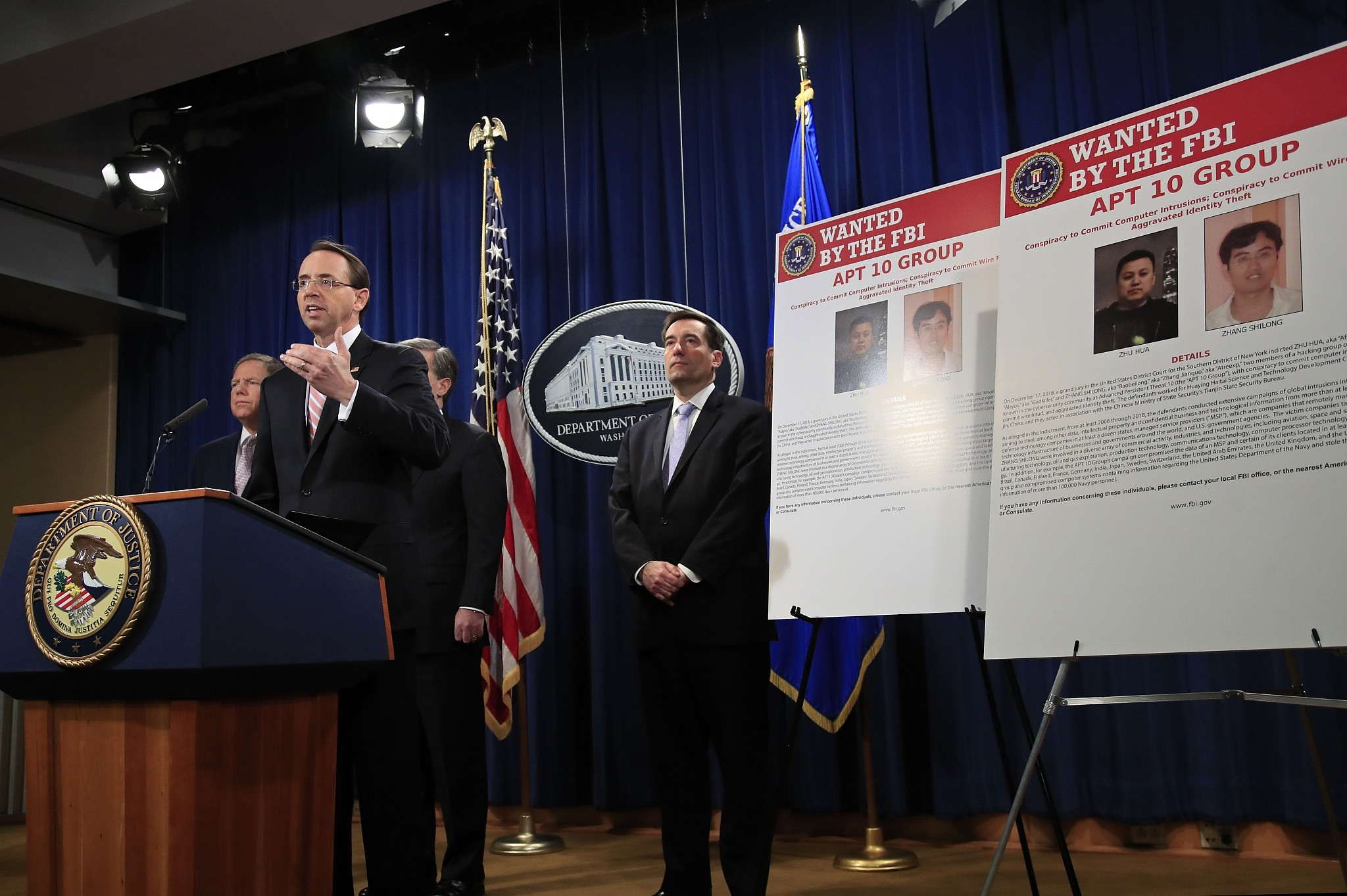 DOJ charges two Chinese nationals with 'extensive' hacking campaign
