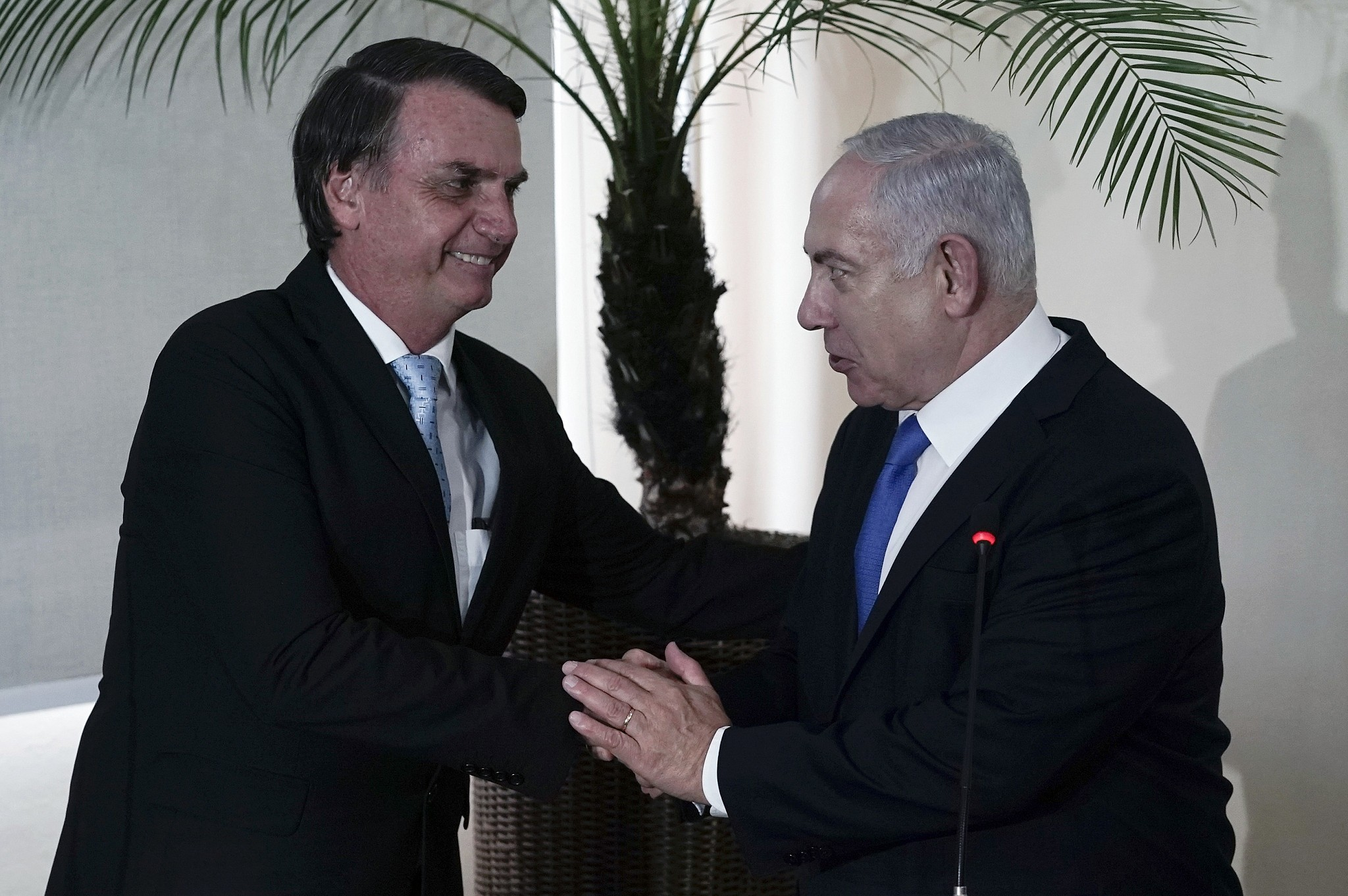 Israeli PM visits Brazil ahead of Bolsonaro inauguration