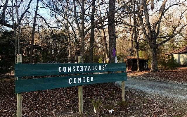 The Conservators Center says a worker has been killed by a lion that got loose from a locked space, Sunday, Dec. 30, 2018, in Burlington, N.C. The facility was founded in 1999 and is in Burlington, about 50 miles northwest of Raleigh. (WTVD/ABC11 via AP)