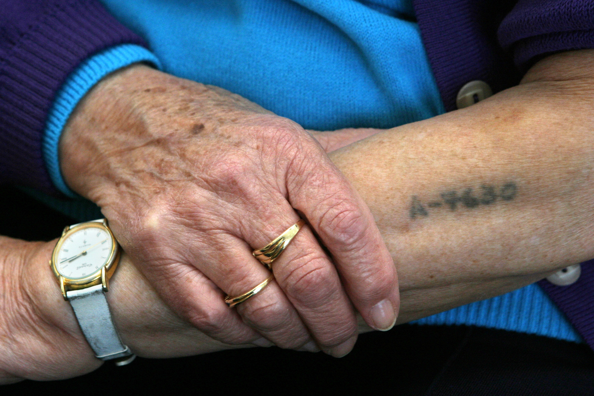 Tech-Unternehmer widmen 36 Stunden der Unterstützung von Überlebenden des Holocaust.