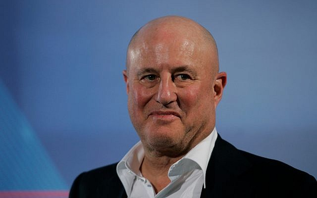 Revlon cosmetics mogul Ronald O. Perelman is shown at a ribbon-cutting ceremony in the West Village in New York, in this April 24, 2008 file photo.(AP Photo/Kathy Willens, File)